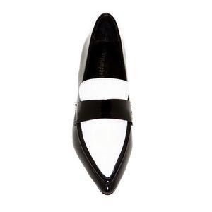 Jeffrey Campbell Belanger Pointed Leather Loafer